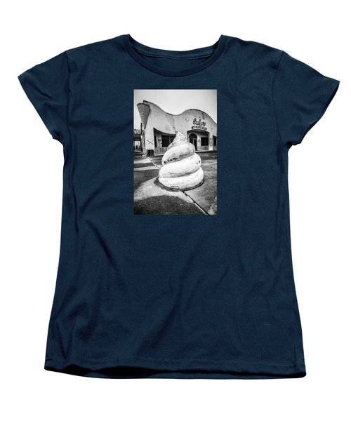 Women's T-Shirt (Standard Cut) featuring the photograph Jazzland Ice Cream by Andy Crawford