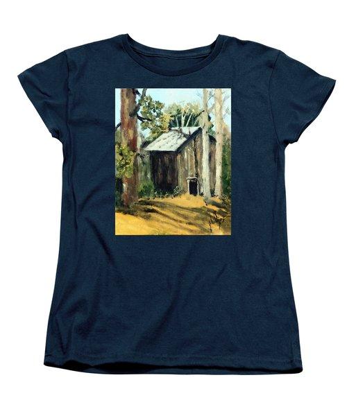 Jd's Backker Barn Women's T-Shirt (Standard Cut) by Jim Phillips