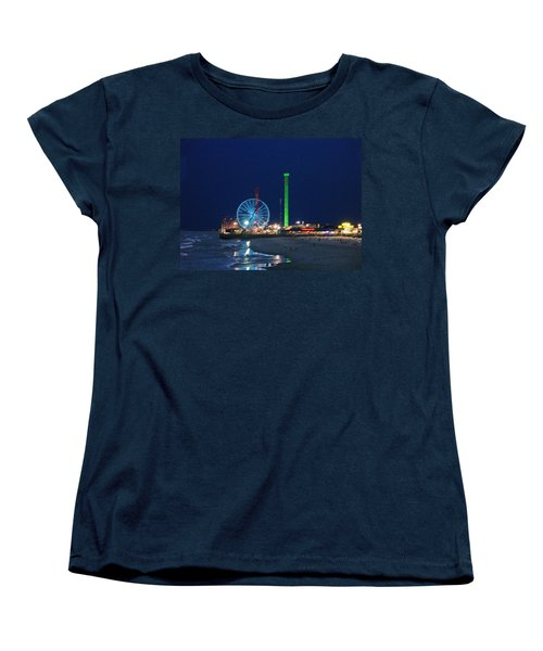 Jersey Shore Women's T-Shirt (Standard Cut) by Steve Karol