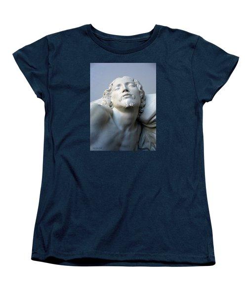 Jesus Women's T-Shirt (Standard Cut) by Suhas Tavkar