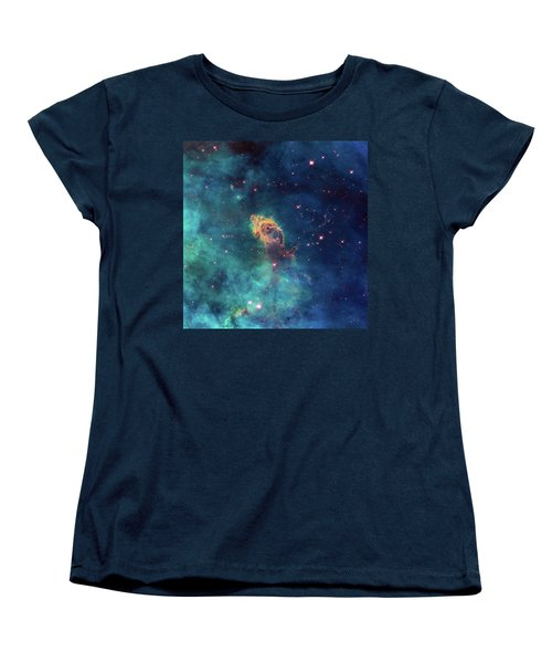 Women's T-Shirt (Standard Cut) featuring the photograph Jet In Carina by Marco Oliveira