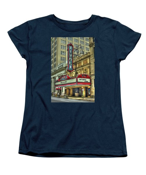 Jewel Of The South Tivoli Chattanooga Historic Theater Women's T-Shirt (Standard Cut) by Reid Callaway