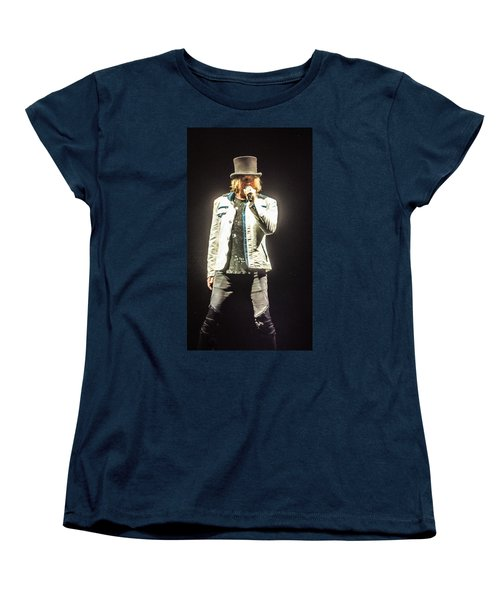 Joe Elliott Women's T-Shirt (Standard Cut) by Luisa Gatti