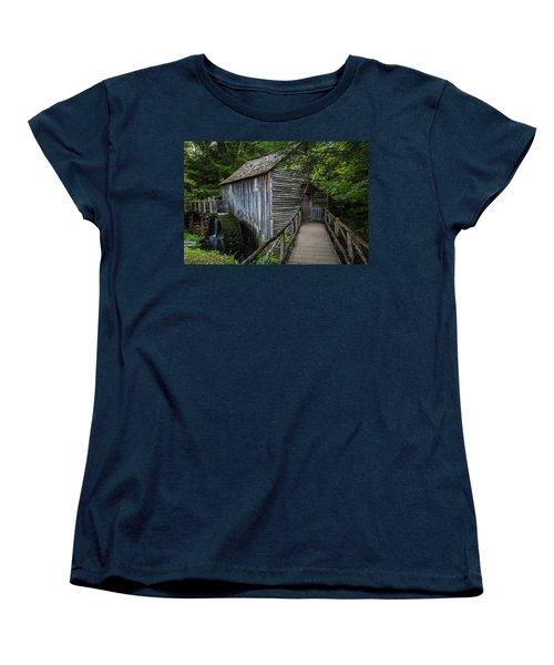 John Cable Mill Women's T-Shirt (Standard Cut) by David Cote