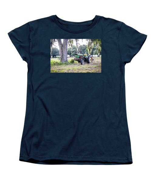 John Deer - Work Day Women's T-Shirt (Standard Cut) by Scott Hansen