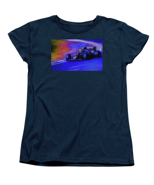 Women's T-Shirt (Standard Cut) featuring the mixed media John Player Special by Marvin Spates
