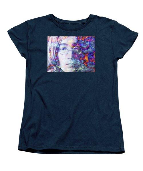 Women's T-Shirt (Standard Cut) featuring the digital art John by Robert Orinski