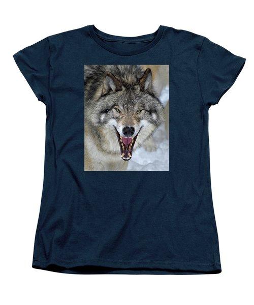 Women's T-Shirt (Standard Cut) featuring the photograph Joker by Tony Beck