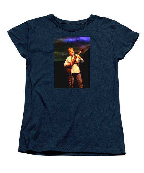 Jon Anderson Of Yes Women's T-Shirt (Standard Cut) by Melinda Saminski