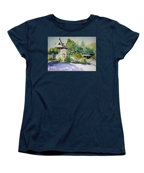 Jose Moya Del Pino Library At Marin Arts And Garden Center Women's T-Shirt (Standard Cut) by Tom Simmons