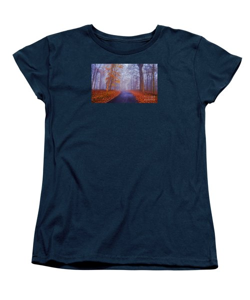 Journey Continues Women's T-Shirt (Standard Cut) by Rima Biswas