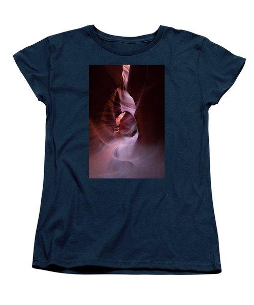 Journey Thru The Shadows Women's T-Shirt (Standard Cut) by Jon Glaser