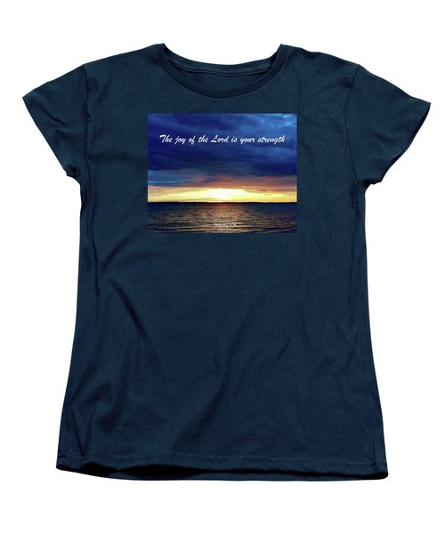 Joy Of The Lord Women's T-Shirt (Standard Cut) by Russell Keating