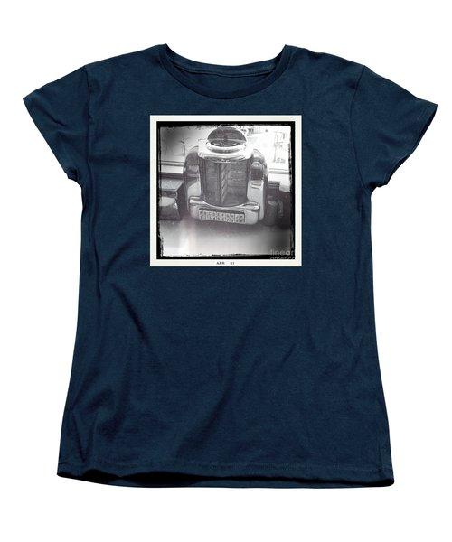 Juke Box Women's T-Shirt (Standard Cut) by Nina Prommer