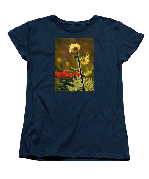 July Afternoon-compass Plant Women's T-Shirt (Standard Cut) by Bruce Morrison