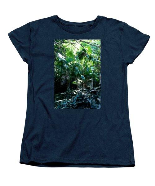 Jungle Sun  Women's T-Shirt (Standard Cut) by Robert Nickologianis