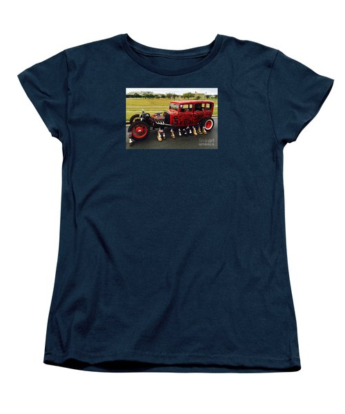 Women's T-Shirt (Standard Cut) featuring the photograph Junk Yard Dawg - No.2015 by Joe Finney