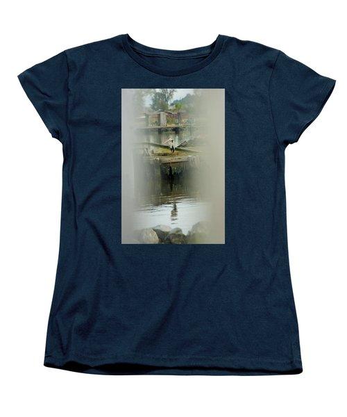 Women's T-Shirt (Standard Cut) featuring the photograph Just A Little Older With A Little More Grey... by John Glass