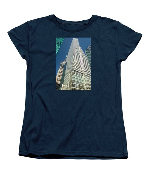 Just Another Skyscraper Women's T-Shirt (Standard Cut) by Sabine Edrissi