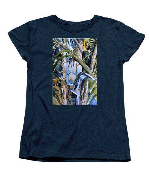 Just Being Women's T-Shirt (Standard Cut) by Mindy Newman
