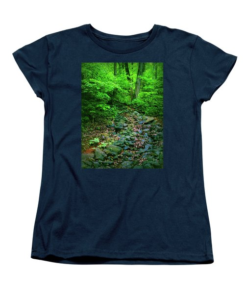 Women's T-Shirt (Standard Cut) featuring the photograph Just Breath by Laura DAddona