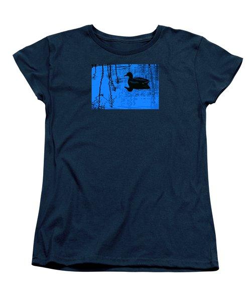 Just Floating Along Women's T-Shirt (Standard Cut) by John Rossman