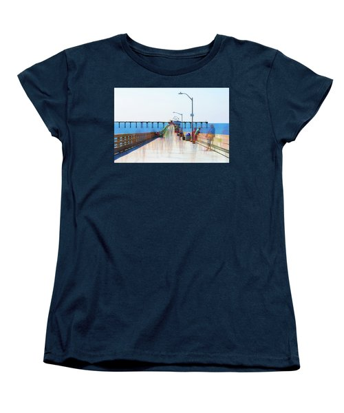 Just Hanging Out In The Summertime Women's T-Shirt (Standard Cut)