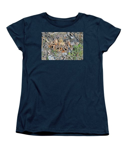 Just Hatched American Woodcock Chicks Women's T-Shirt (Standard Cut) by Asbed Iskedjian