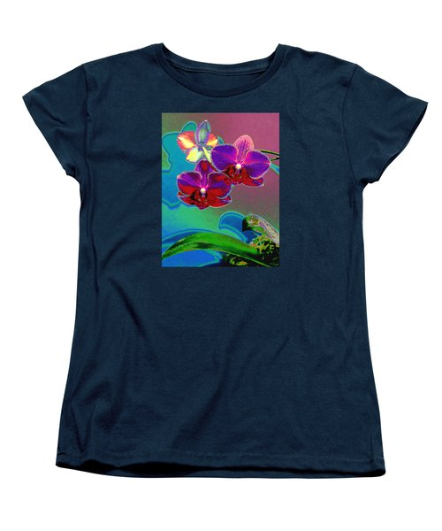 Just Open 2 Women's T-Shirt (Standard Cut) by M Diane Bonaparte