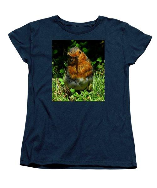 Juvenile Robin 2 Women's T-Shirt (Standard Cut) by John Topman