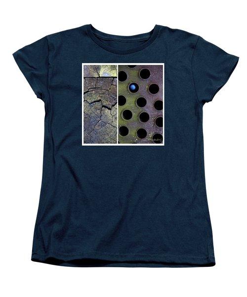 Juxtae #58 Women's T-Shirt (Standard Cut) by Joan Ladendorf