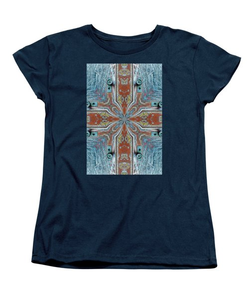 Women's T-Shirt (Standard Cut) featuring the photograph K 112 by Jan Amiss Photography