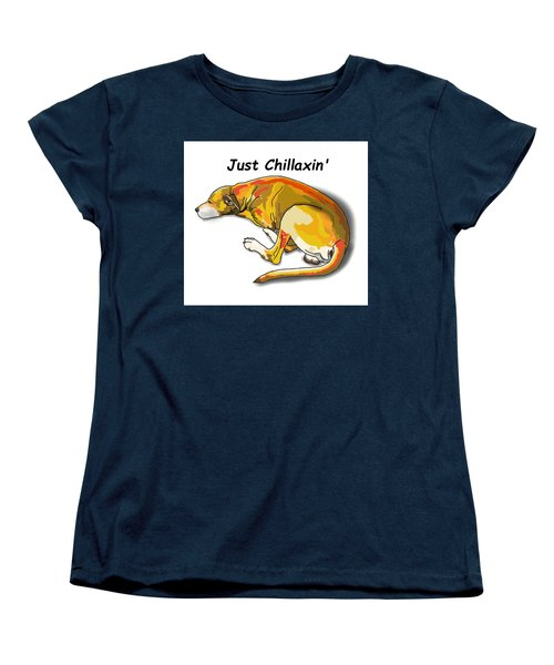 Kai Chillaxin' Women's T-Shirt (Standard Fit)