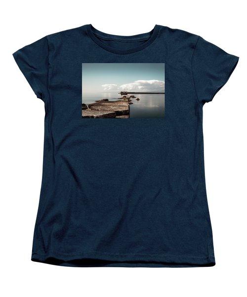 Kalamata Port / Greece Women's T-Shirt (Standard Cut) by Stavros Argyropoulos