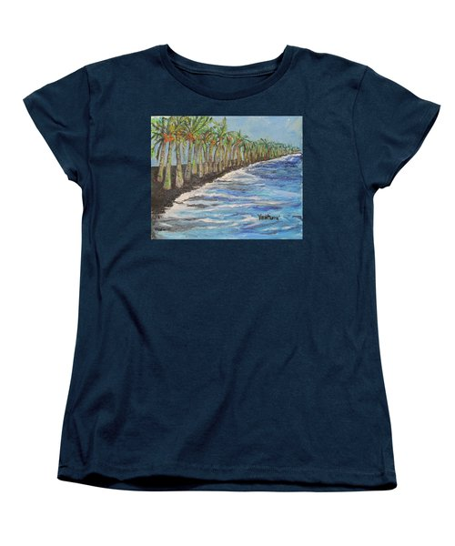 Kalapana Beach Women's T-Shirt (Standard Cut)