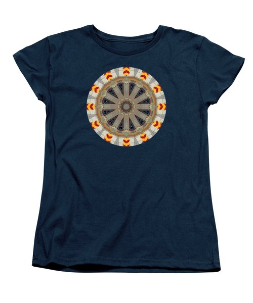 Women's T-Shirt (Standard Cut) featuring the photograph Kaleidos - Ptown03 by Jack Torcello