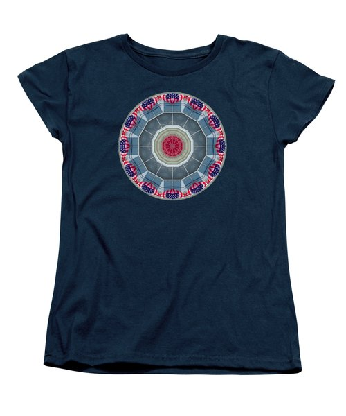 Women's T-Shirt (Standard Cut) featuring the photograph Kaleidos - Ptown06 by Jack Torcello