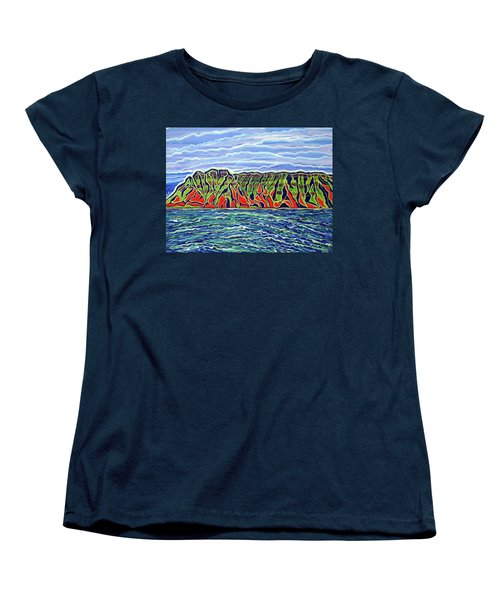 Kauai Women's T-Shirt (Standard Cut) by Debbie Chamberlin
