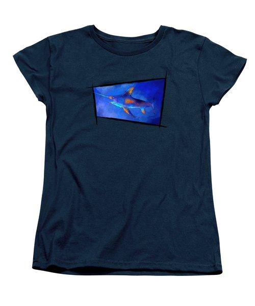 Kauderon V1 - Beautiful Swordfish Women's T-Shirt (Standard Cut) by Cersatti