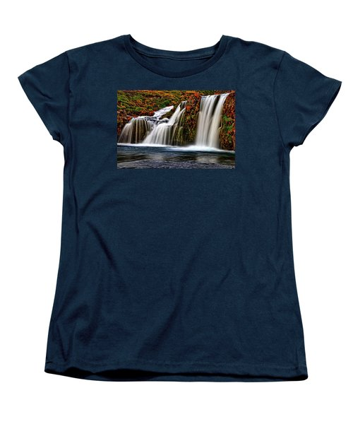 Women's T-Shirt (Standard Cut) featuring the photograph Kay Falls by Scott Mahon