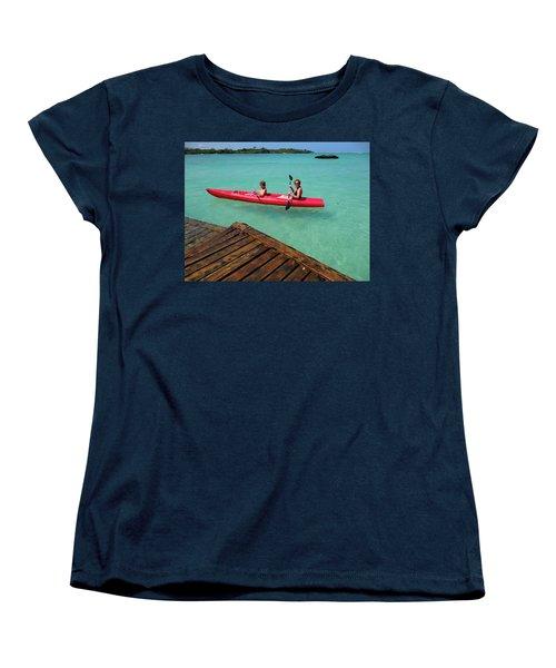 Kayaking Perfection 1 Women's T-Shirt (Standard Fit)