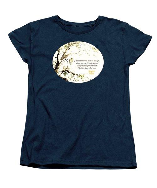 Keep Me In Your Heart Women's T-Shirt (Standard Cut) by Nancy Ingersoll
