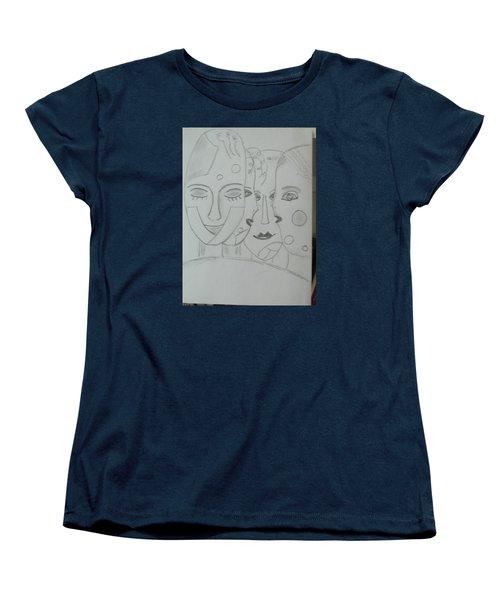 Keeper Of Secrets Women's T-Shirt (Standard Cut) by Sharyn Winters