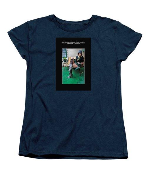 Kellie Peach 6-73 Women's T-Shirt (Standard Cut) by David Miller