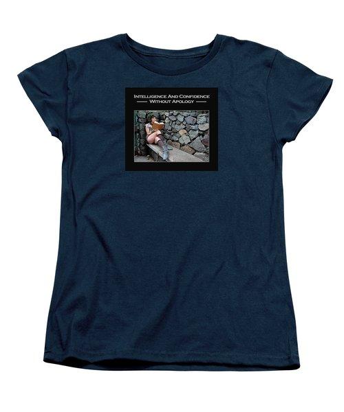 Kellie Peach 8-124 Women's T-Shirt (Standard Cut) by David Miller