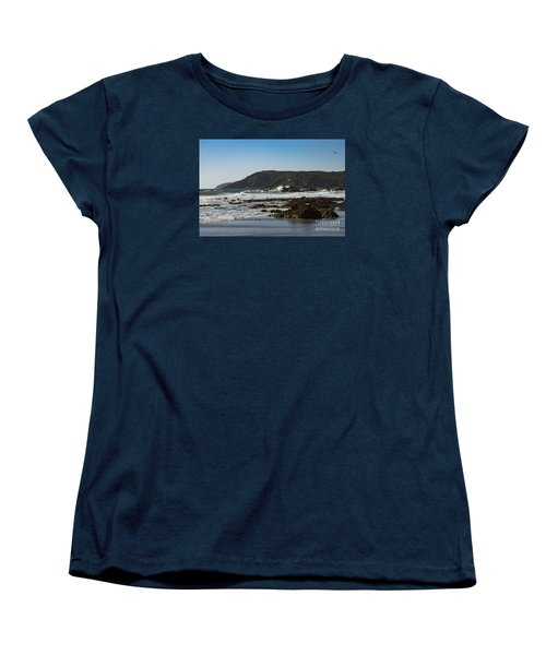 Women's T-Shirt (Standard Cut) featuring the photograph Kennack Sands by Brian Roscorla