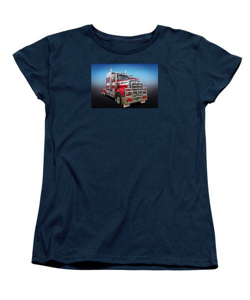 Women's T-Shirt (Standard Cut) featuring the photograph Kenworth by Keith Hawley