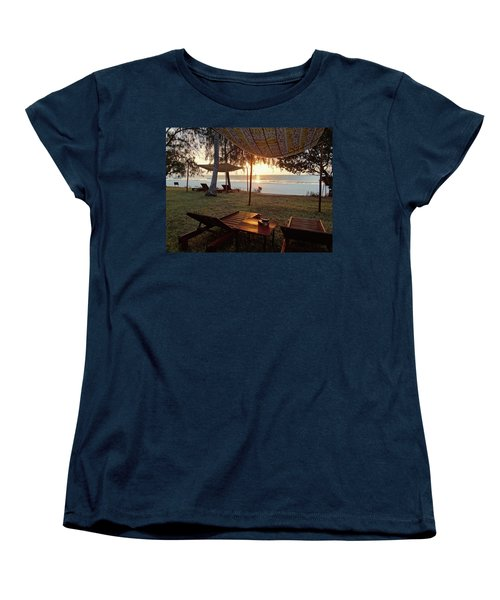 Kenyan African Beach Sunrise 2 Women's T-Shirt (Standard Fit)