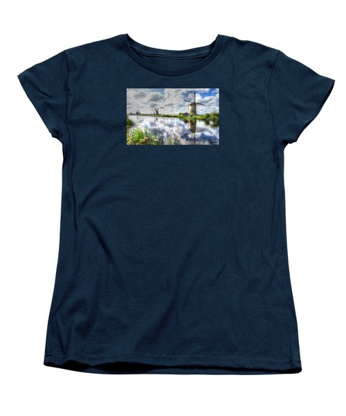 Kinderdijk Women's T-Shirt (Standard Cut) by Uri Baruch