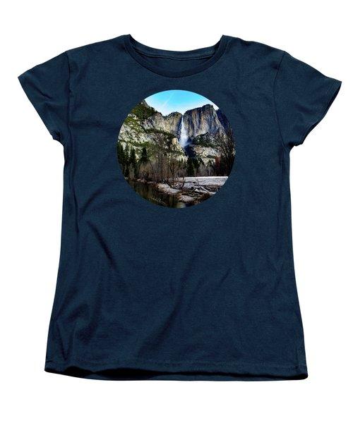 King Of Waterfalls Women's T-Shirt (Standard Cut) by Adam Morsa
